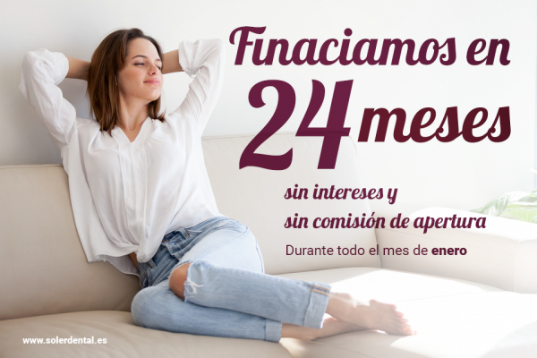 Financiamos a 24 meses sin intereses