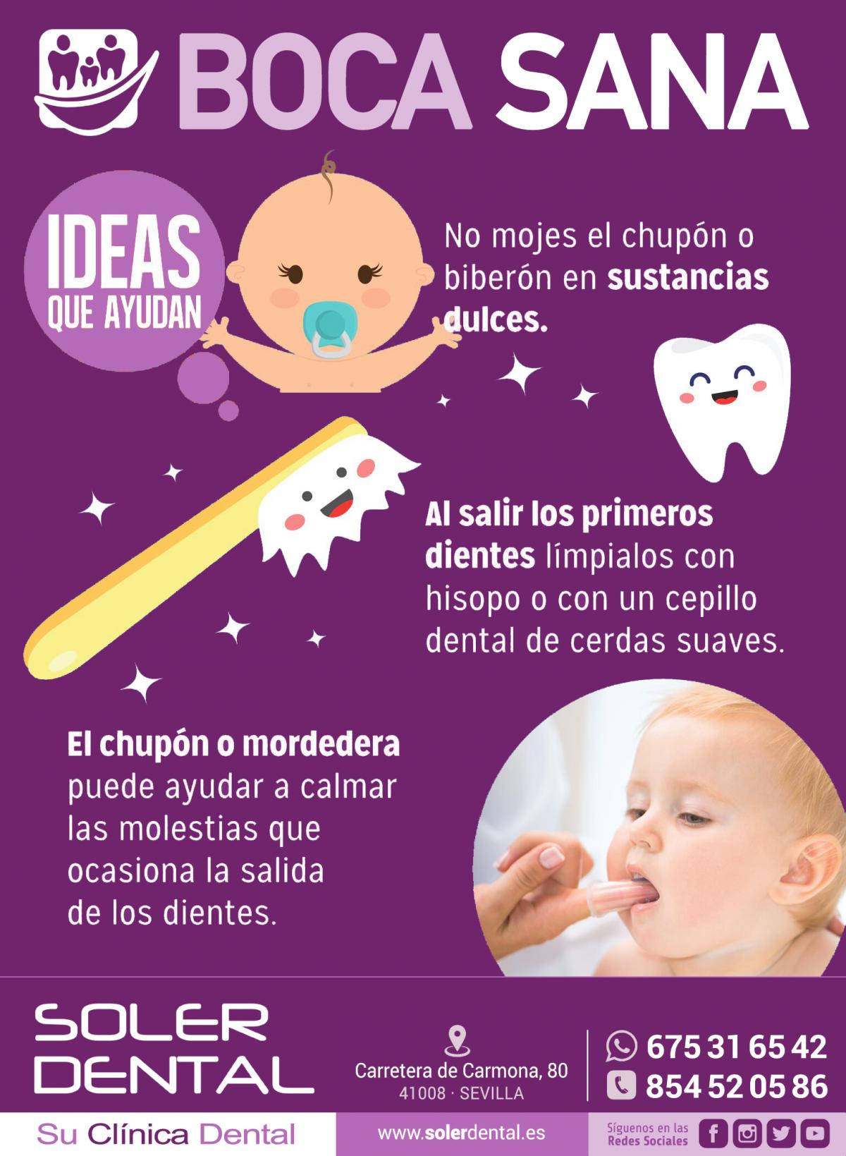 Boca sana en los bebés