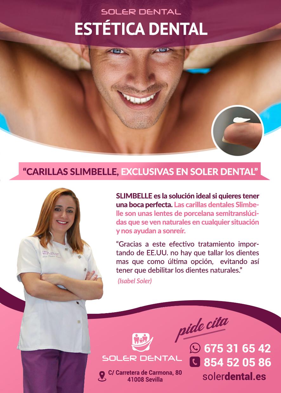 Carillas SlimBelle exclusivas en Soler Dental
