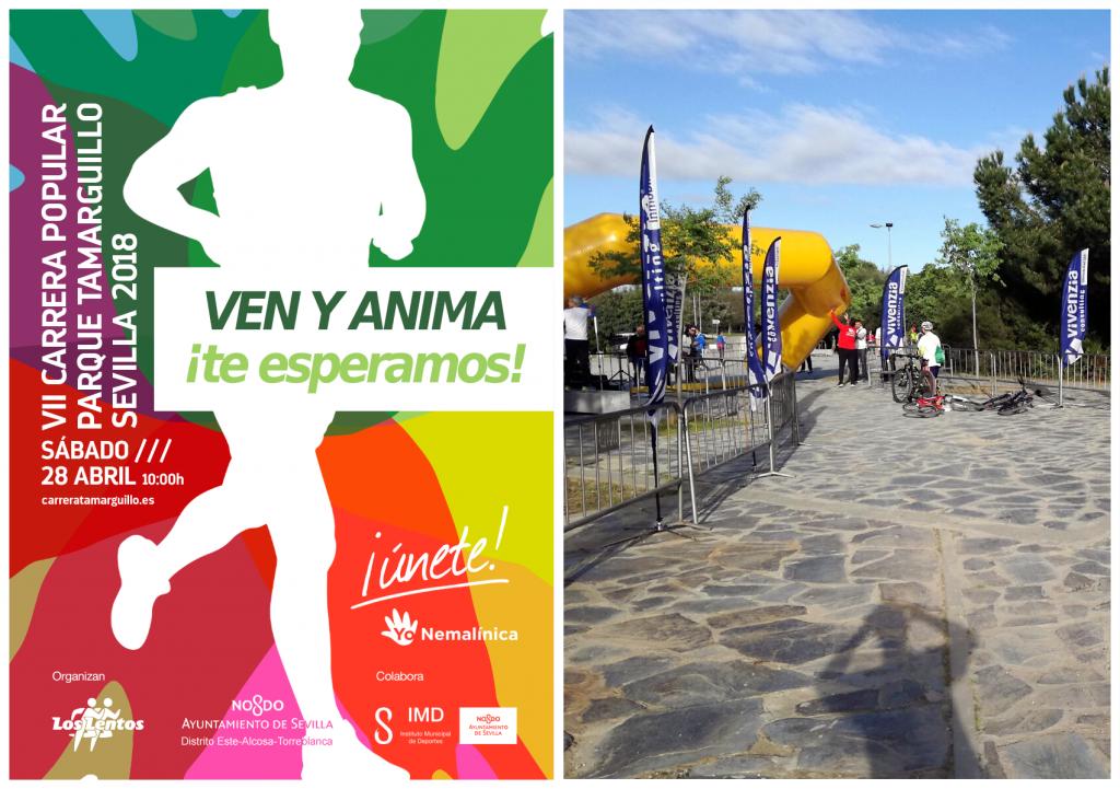 Carrera Popular Parque Tamarguillo de Sevilla