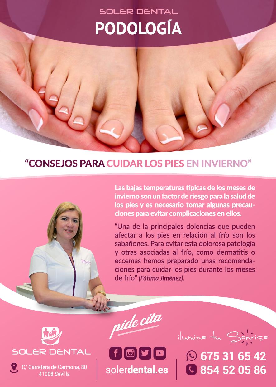 Consejos para cuidar los pies en invierno