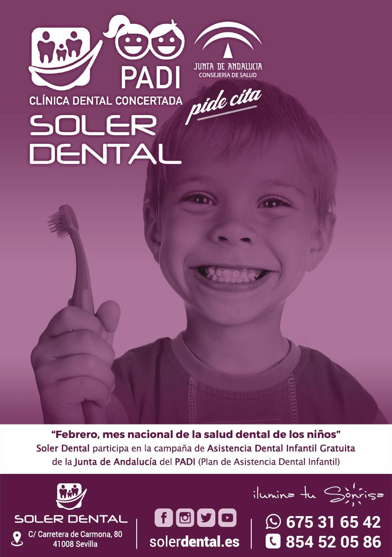 Mes nacional de la salud dental de los niños