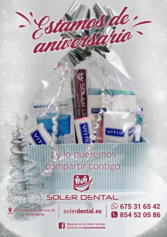 Regalamos una cesta de Navidad muy dental