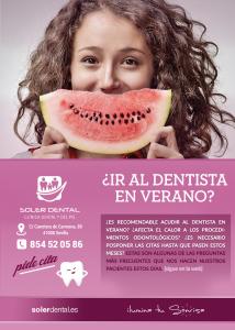 ¿Ir al dentista en verano?
