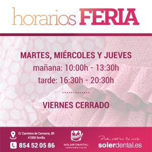 Horarios Feria
