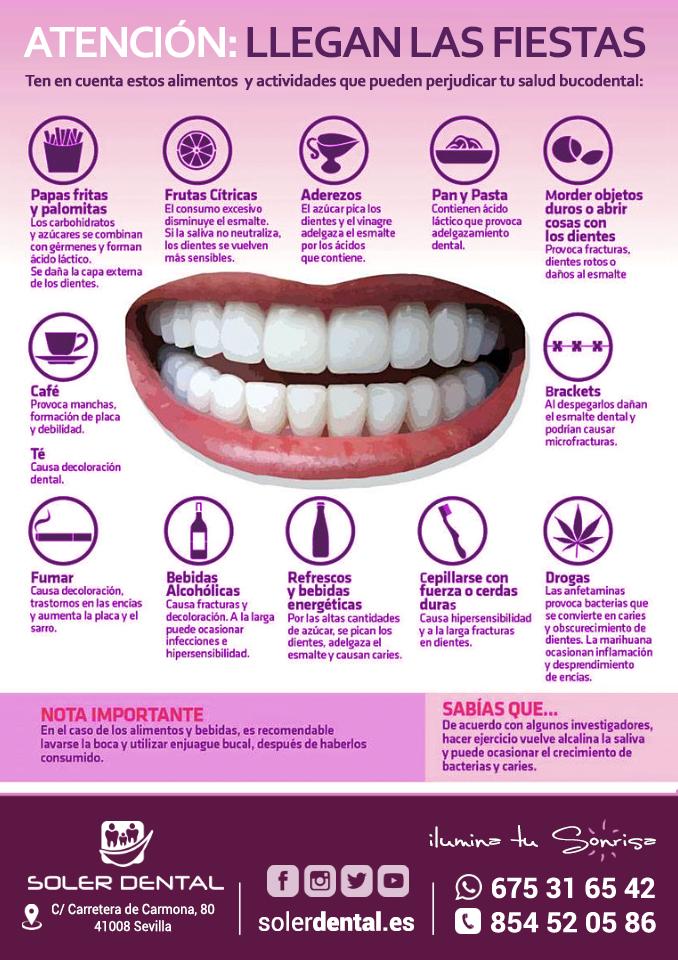 Consejos dentales para las fiestas