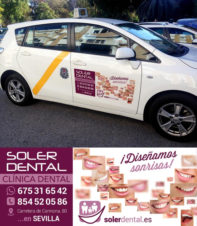 Soler Dental por las calles de Sevilla