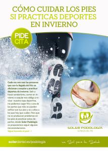 Cómo cuidar los pies si practicas deportes en invierno