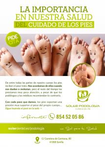 La importancia del cuidado de los pies