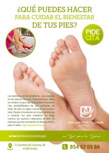 ¿Qué puedes hacer para cuidar el bienestar de tus pies?