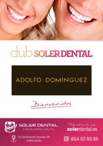 Bienvenido 'Adolfo Domínguez'