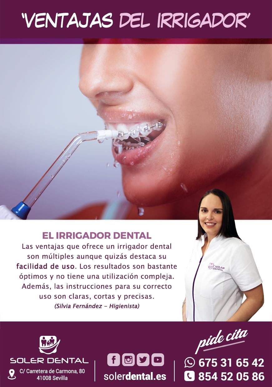 Ventajas de usar un irrigador dental