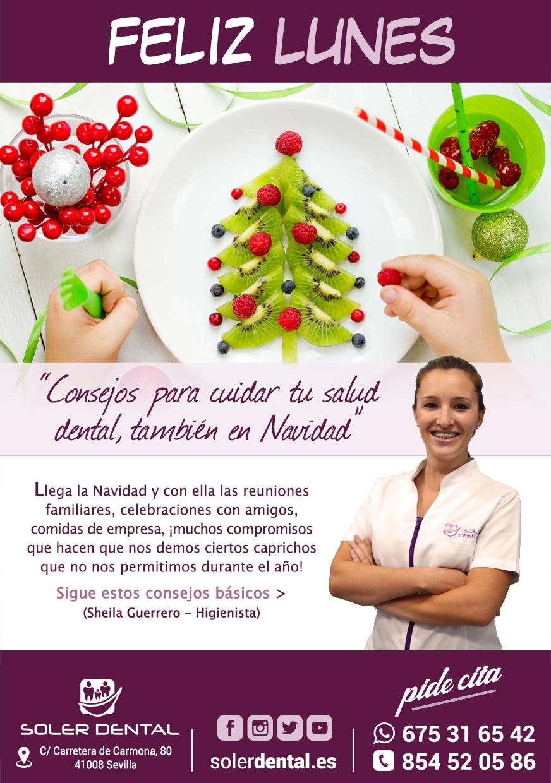 Salud dental, también en Navidad